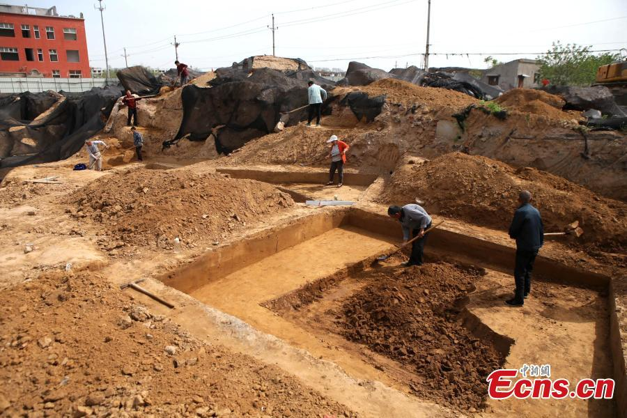City finds tombs of Eastern Zhou Dynasty